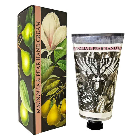 Kew Gardens Hand Cream - Magnolia and Pear - 75ml