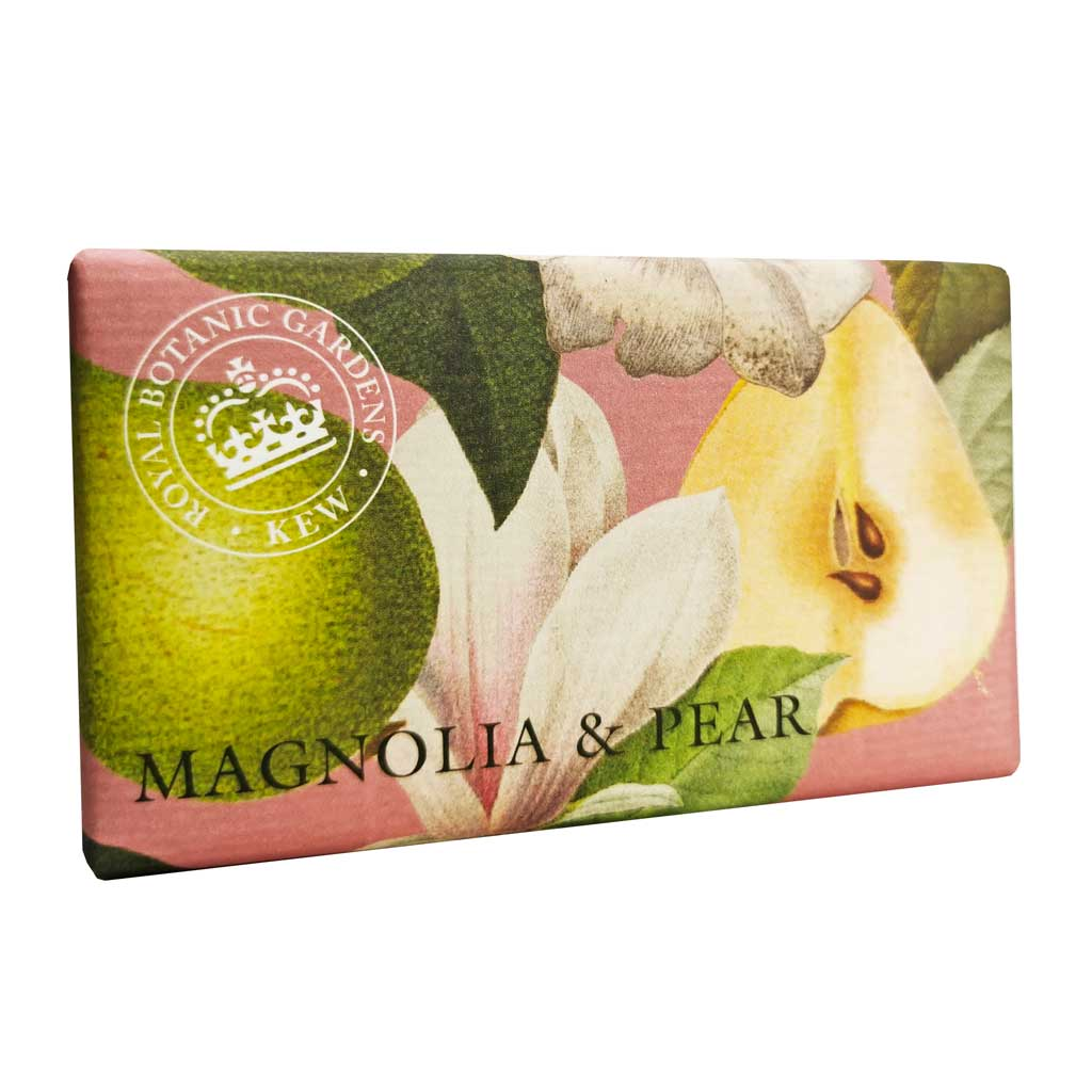 Kew Gardens Soap - Magnolia and Pear - 240g