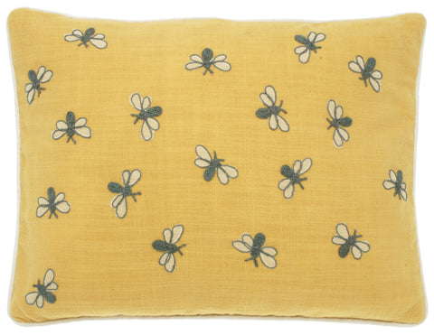 Cushion - Scrapbook Bumblebee