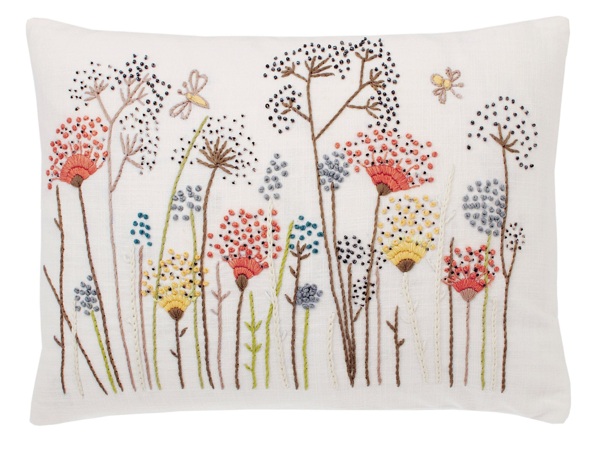 Cushion - Scrapbook Meadow Blooms