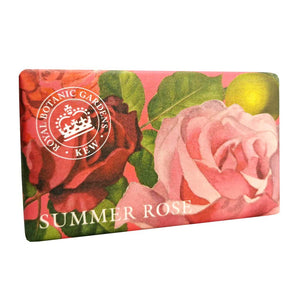 Kew Gardens Soap - Summer Rose - 240g