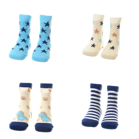 Dino and Stars Socks Set
