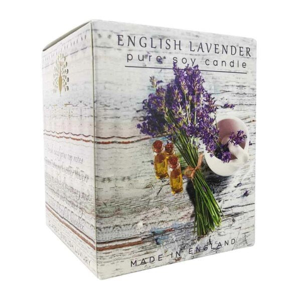 Candle - English Lavender - Soy Wax