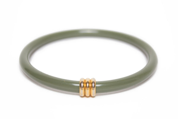Eternity Bangle | Olive