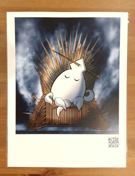 Throne of a Thousand Toothpicks - Art Print