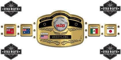 Customized Title Belts Designs