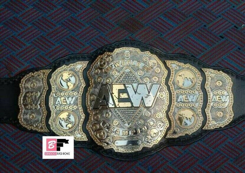 AEW Championship Belt Replica - Zees Belts