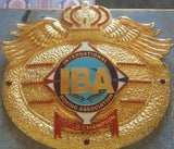 IBA BOXING TITLE Championship Belt - Zees Belts