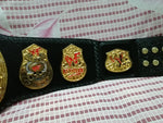 WWF STONE COLD SMOKING SKULL 24K GOLD Zinc Championship Belt - Zees Belts