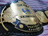 WWF WINGED EAGLE 24K GOLD Zinc Championship Belt - Zees Belts