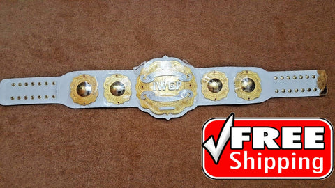 IWGP INTERCONTINENTAL Championship Belt 4mm Double Layer - Zees Belts