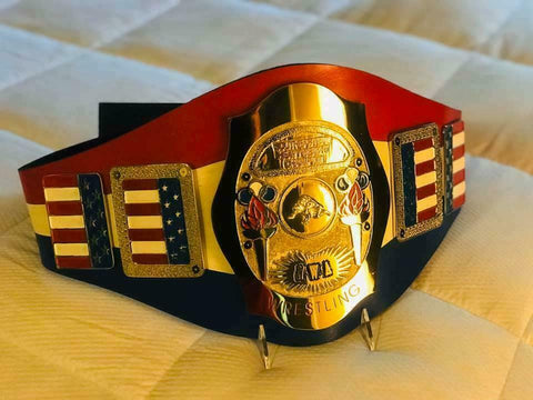 NWA SOUTHERN HEAVYWEIGHT Zinc Championship Belt - Zees Belts