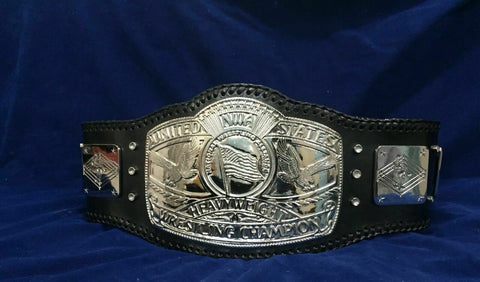 NWA USA HEAVYWEIGHT Zinc Championship Belt - Zees Belts