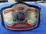 NWA US TAG TEAM Zinc Championship Belt - Zees Belts