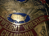 NWA UNITED STATES HEAVYWEIGHT 24K GOLD Zinc Championship Belt - Zees Belts