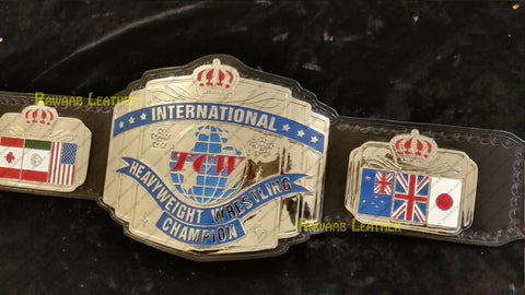TCW INTERNATIONAL HEAVYWEIGHT Zinc Championship Belt - Zees Belts