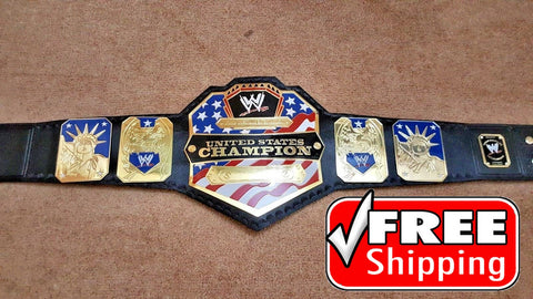 WWE UNITED STATES Brass Championship Belt - Zees Belts