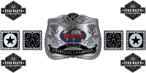 ZBCB-11 Custom Design Championship Belt