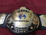 WWF DUAL PLATED WINGED EAGLE 24K GOLD Zinc Championship Belt - Zees Belts