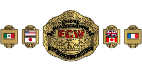 ZBCB-41 Custom Design Championship Belt