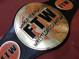 FTW WORLD HEAVYWEIGHT Championship Belt - Zees Belts