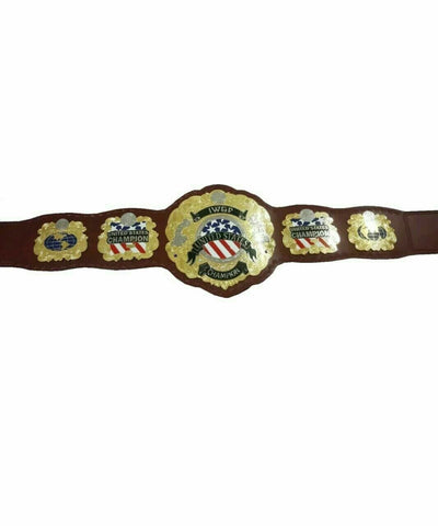 IWGP UNITED STATES Championship Title Belt - Zees Belts