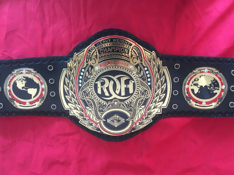 ROH HEAVYWEIGHT Brass Championship Belt - Zees Belts