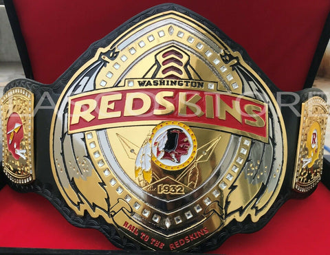 WASHINGTON REDSKINS Zinc Championship Belt - Zees Belts
