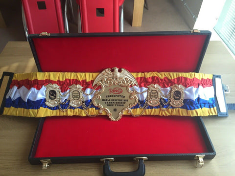 RING MAGAZINE UNDISPUTED BOXING Championship Belt - Zees Belts