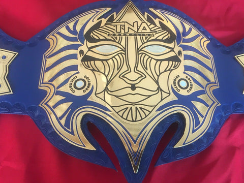 TNA JEFF HARDY Brass Championship Belt - Zees Belts