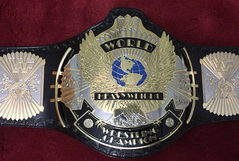 WWF WINGED EAGLE DUAL PLATED Brass Championship Belt - Zees Belts