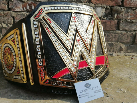 WWE WORLD HEAVYWEIGHT Zinc Championship Belt - Zees Belts