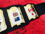 WWF ANDRE HEAVYWEIGHT 87 24K GOLD Zinc Championship Belt - Zees Belts