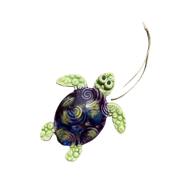 The Sea Turtle  Ornament