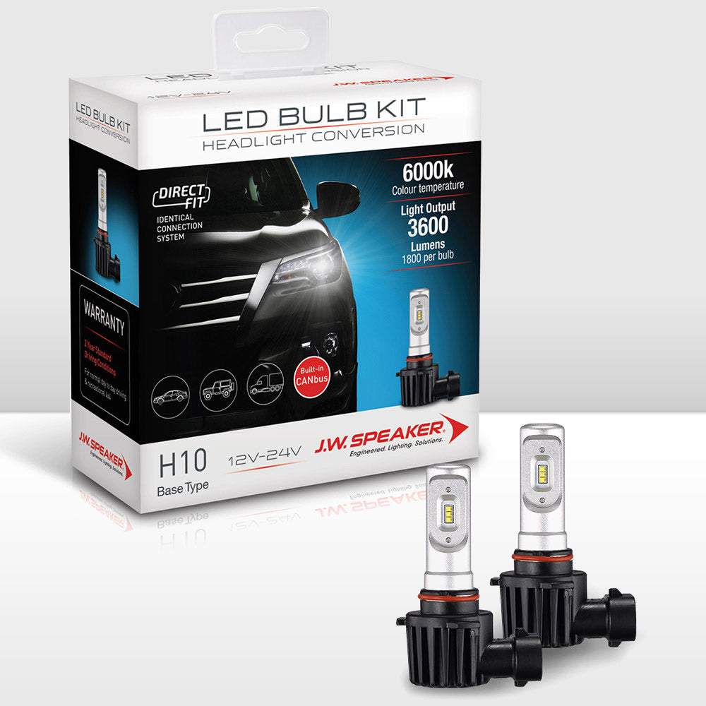 JW Speaker LED Headlight Bulb Kit-H10