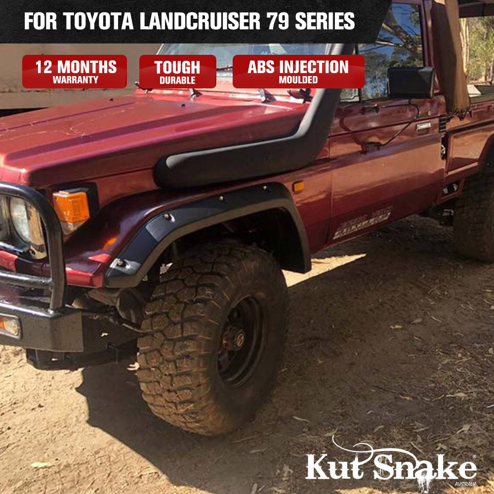 Kut Snake Flares For Toyota Landcruiser 79 Series Single Cab Well Body