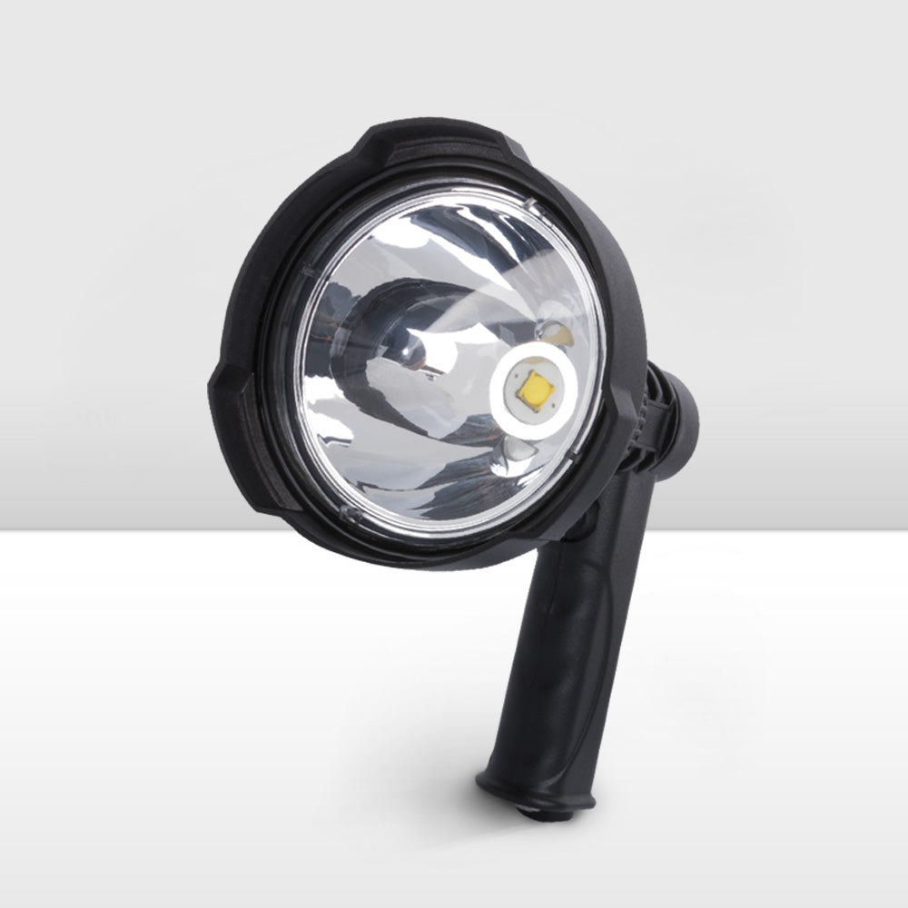 25W CREE Hunting LED Handheld Spotlight Rechargeable Spot Beam