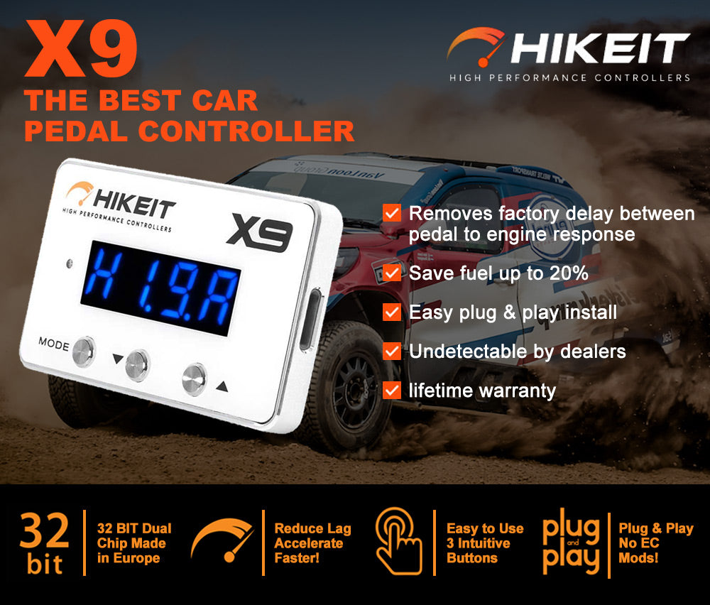 HIKEIT-X9 Electronic Throttle Controller fit Toyota Landcruiser 76 78