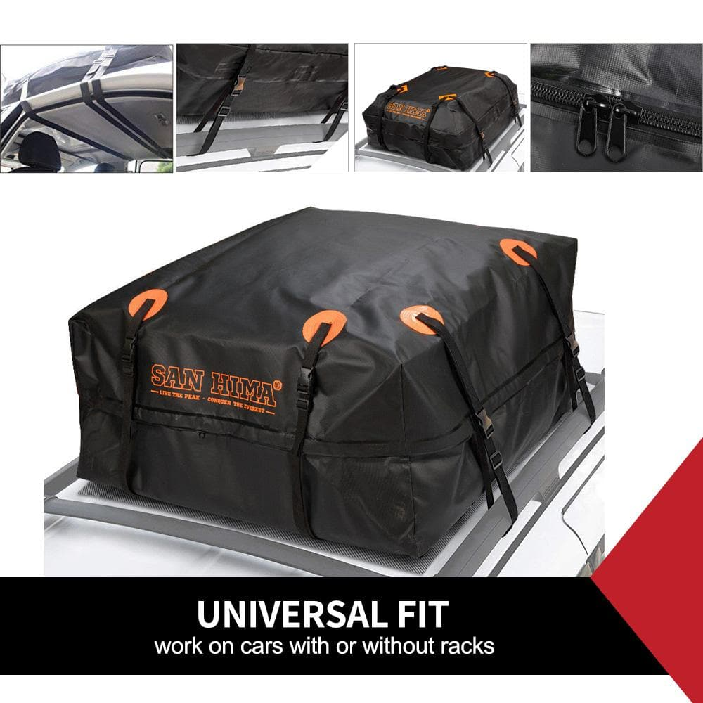Car Roof Cargo Bag Top Rack Travel Cargo Carrier Luggage Storage
