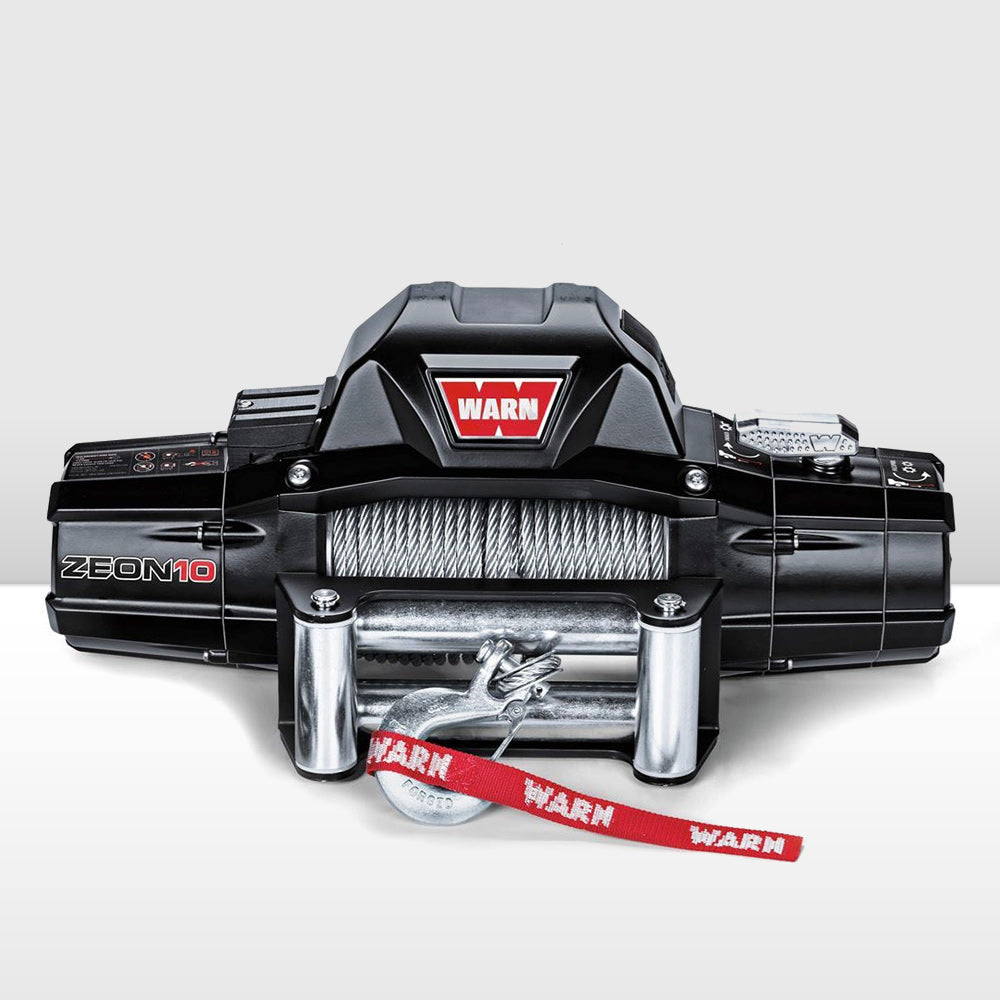 WARN ZEON 10 12V WINCH - WIRE ROPE