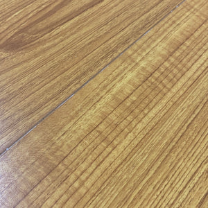 12mm Feathered Bevel Edge Laminate Wood - American Cherry - 2038