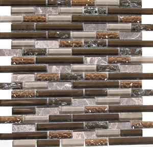 Crackled 233-98 12x12 Mosaic Tile
