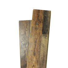 Load image into Gallery viewer, 12mm Laminate Wood Barnwood Brown- Pad Attached1