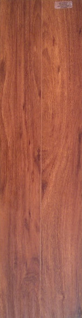 Load image into Gallery viewer, 12mm Handscraped Redwood Laminate Wood Flooring