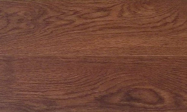 Load image into Gallery viewer, 12mm Value Pad Attached Toffee Laminate Wood Flooring