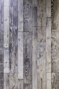 12mm Laminate Wood Barnwood Blue- Pad Attached