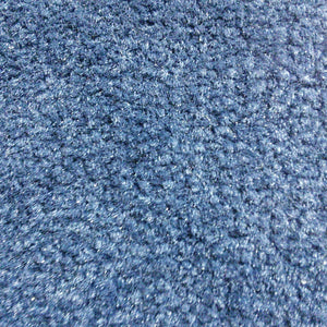 Emphatic Blue Commercial Plush Carpet - CAR1188