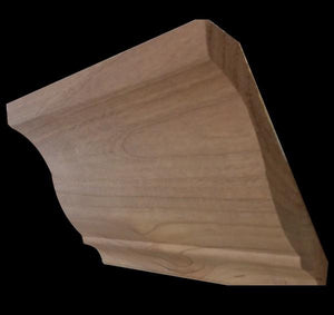 "5 1/4"" Stain Grade Crown Molding Cherry"