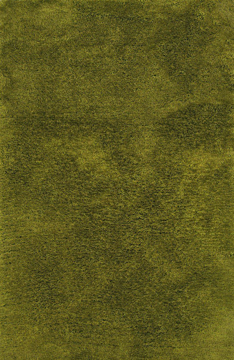 Cosmo Shag Collection - 6.6 x 9.6 - Olive