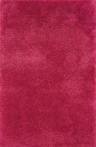 Cosmo Shag Collection - 6.6 x 9.6 - Red